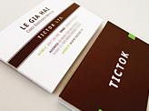 Tictok Business Card