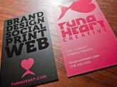 Tuna Heart Business Card