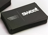 We are sweet business card