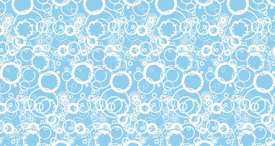 Blue Grungy Circles