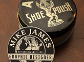 Shoe Polish Business Card