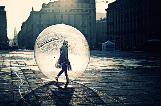 The Girl in a Ball