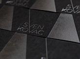 Black Silver Businesscard