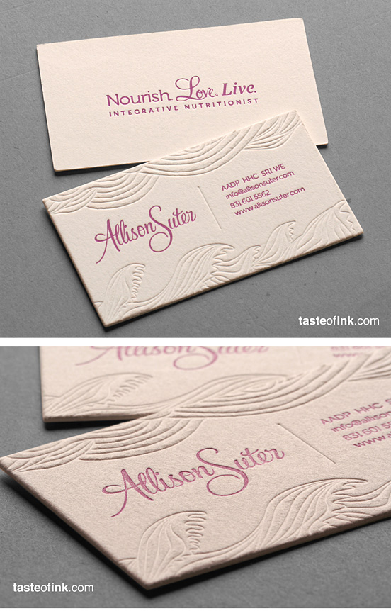 Allison Suter Business Cards