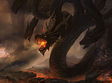 Battle with the 9 head dragon