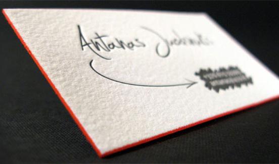Clean Design For Personal Namecard
