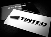 Tinted Businesscard