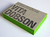 Vita Dobson Business Card