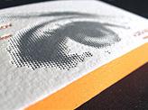 Orange Letterpress
