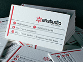 An Design Studio Business Card