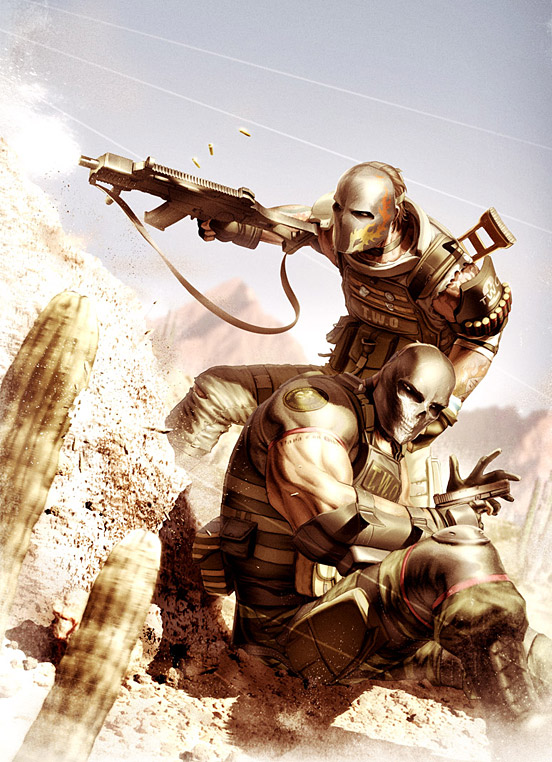 Army of Two Desert Warfare