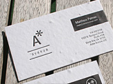 Aster Avenue Principle Business Card
