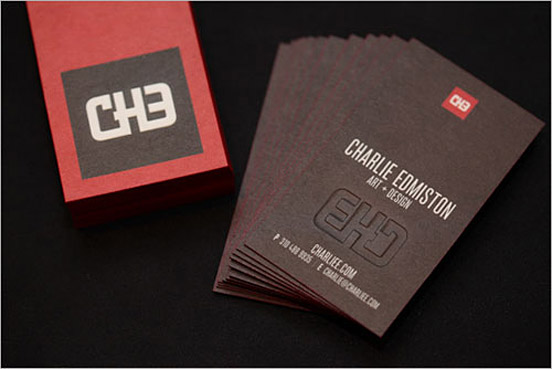 Charlie Edmiston Business Card
