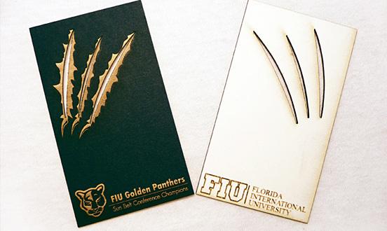 FIU Golden Panthers Businesscard