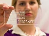 Plexiglass Card
