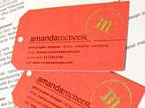 Amanda McNeese Business Card