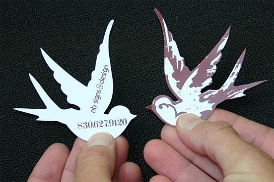 Bird Business Cards
