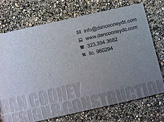 Dan Cooney Business Card