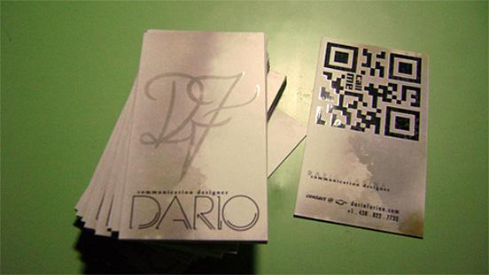 Dario Farina Business Card