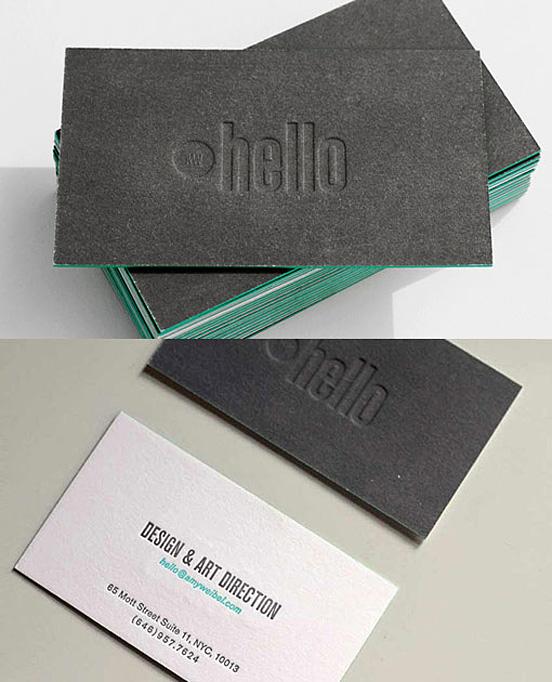 Designer's Design Card