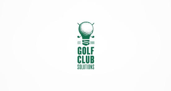 Golf Club Solutions Logo Design The Design Inspiration