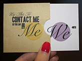 Katie Evans business card