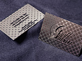 Metal Card Graff'Illusion