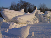 Snow sculpture Harbin