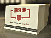 StereoBox Letterpress