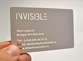 Invisible Business Card