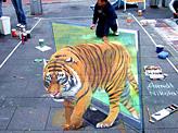 3D Tiger Artwork