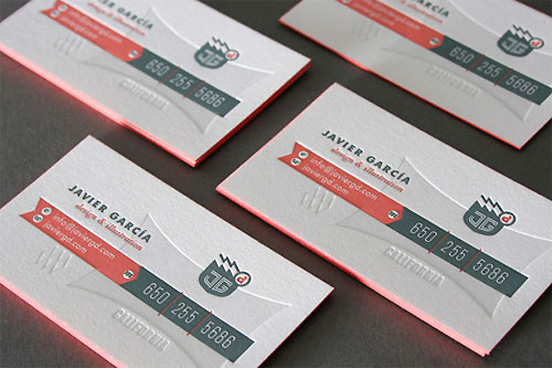 Javier Garcia Business Card