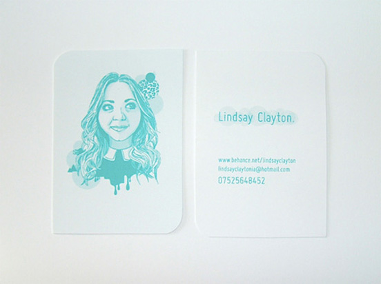 Lindsay Clayton Business Card