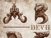 Monster Head Type