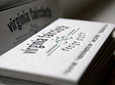 Virginia Faircloth Business Card