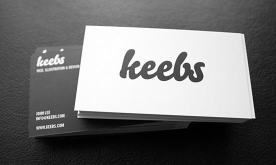 Keebs Business Card
