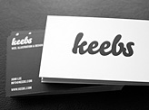 Keebs Business Card