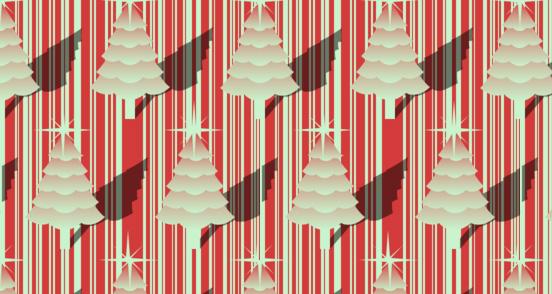 Christmas Tree Stripe