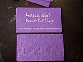 Hannabi Marketing Business Card