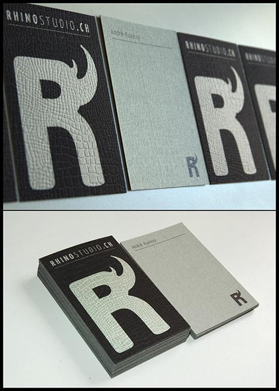 Rhino Studio Business Card