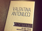 Valentina Antoniucci Business Card