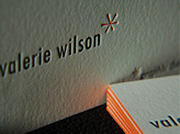 Valerie Wilson Business Card