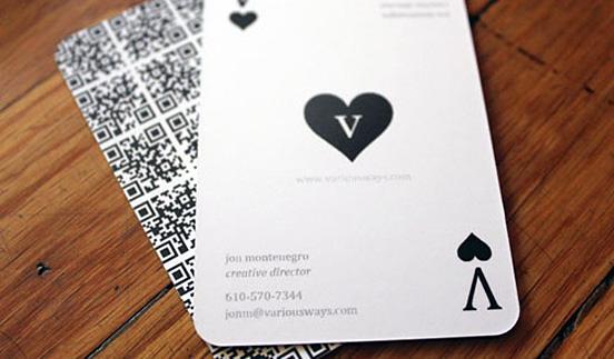 Variousways Business Card