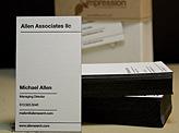 Executive Letterpress Business Card