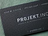 Projekt Ink Business Card