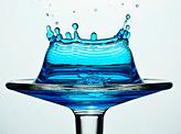 Blue Water Splash
