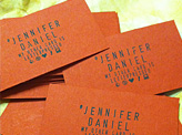 Jennifer Daniel Business Card