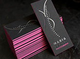 Maria Bernal Business Card