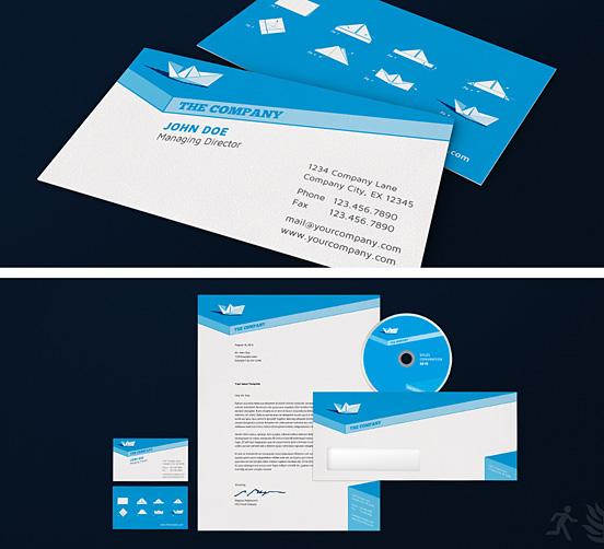Paper Ship Corporate Design