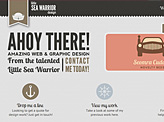 Little Sea Warrior Design